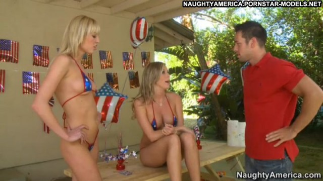 Samantha Saint Pornstar Blonde Nude Videos Bikini Thong Threesomes